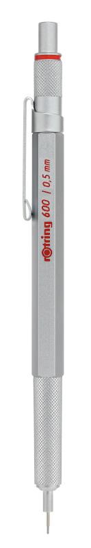 Rotring 600 silver MP 0,5 X 1