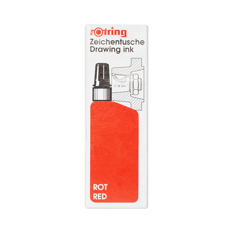 Rotring Red 23ml Ink Bottle