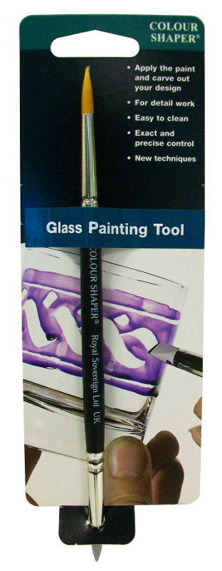 Colour Shaper Double Ended Glass Painting Tool, Size 2 UTGÅR