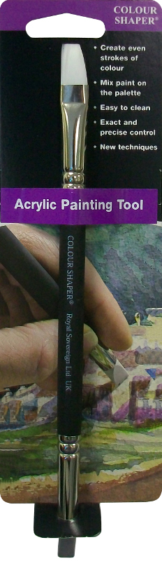 Colour Shaper Double Ended Acrylic Painting Tool, Size 6