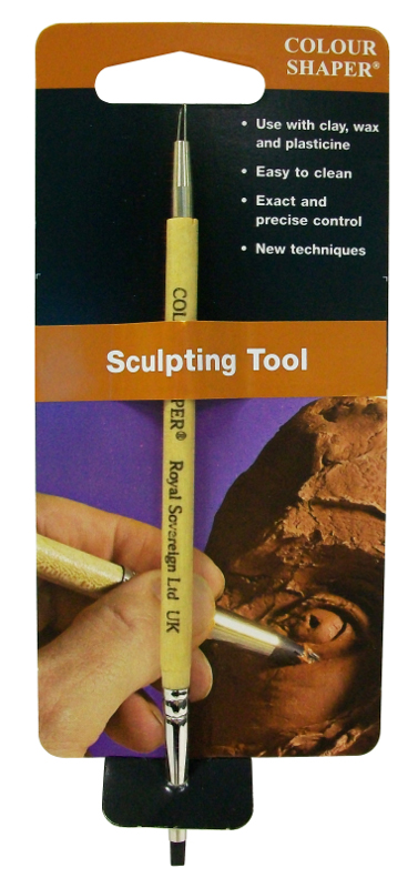 Colour Shaper Double Ended Sculpting Tool Flat Chisel, Size 0
