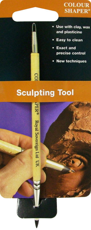 Colour Shaper Double Ended Sculpting Tool Taper Point, Size 0