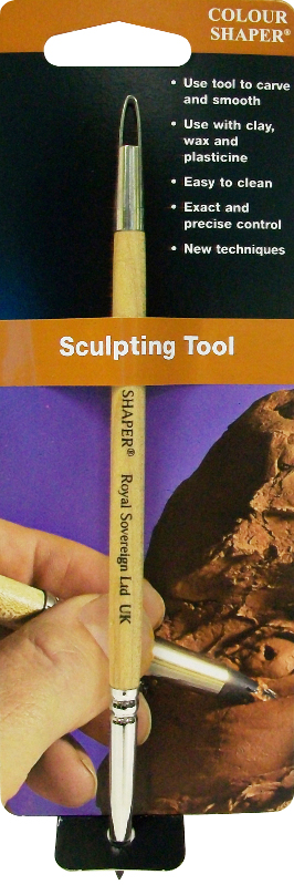 Colour Shaper Double Ended Sculpting Tool Taper Point, Size 2