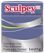 Lera Sculpey III -- Gentle plum  57g  S302 355  (5F)