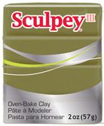 Lera Sculpey III -- Camoflauge  57g  S302 360  (5F)