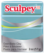 Lera Sculpey III -- Tranqualility  57g  S302 370 (5F)