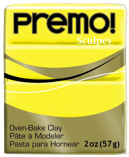 Lera Premo Sculpey -- Zinc Yellow Hue  57g  PE02 5072  (5F)