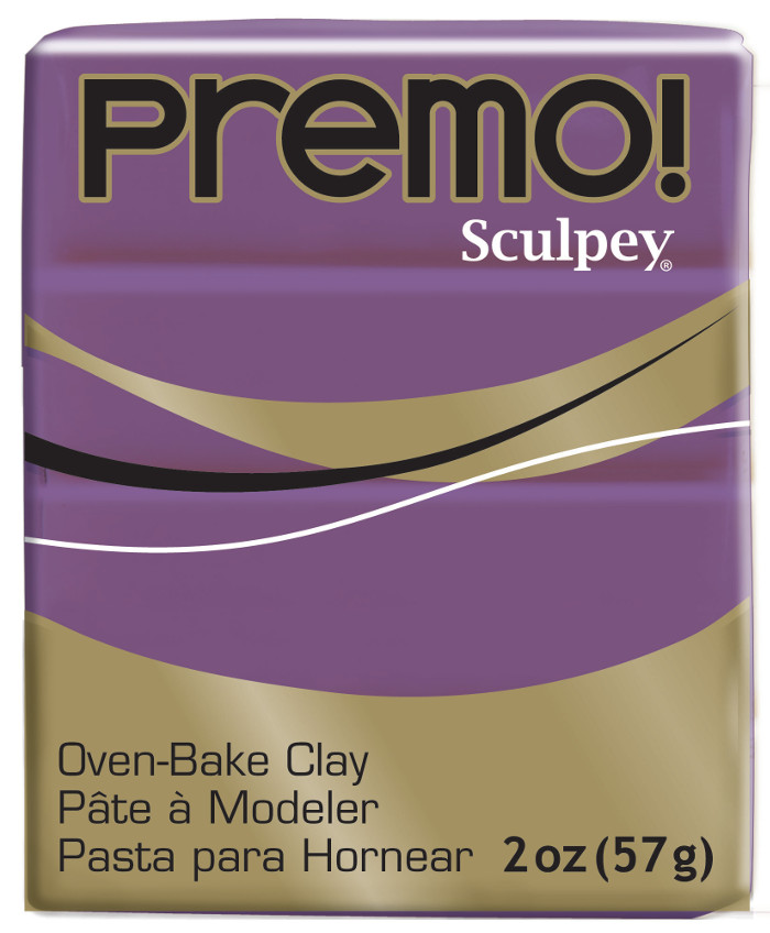 Lera Premo Sculpey -- Wisteria 57g PE02 5107 (5F)