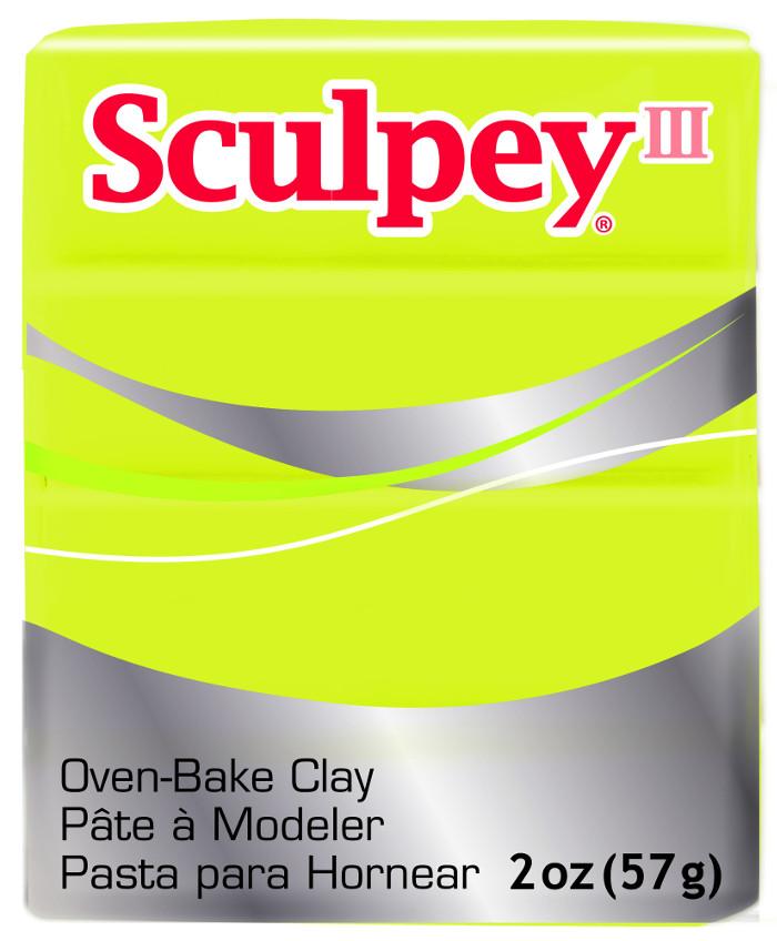 Lera Sculpey III -- Acid Yellow  57g  S302 534  (5F)