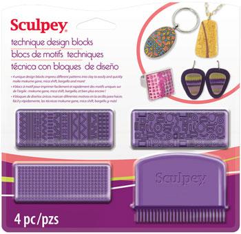 Lera Verktyg  Sculpey Design blocks tool  ASTECH01 (4F) utgår