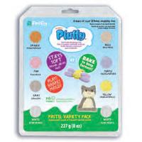 Lera  Pluffy Pastel Multi Pack, 8 X 1 Oz.  K34032 (3F) Utgår