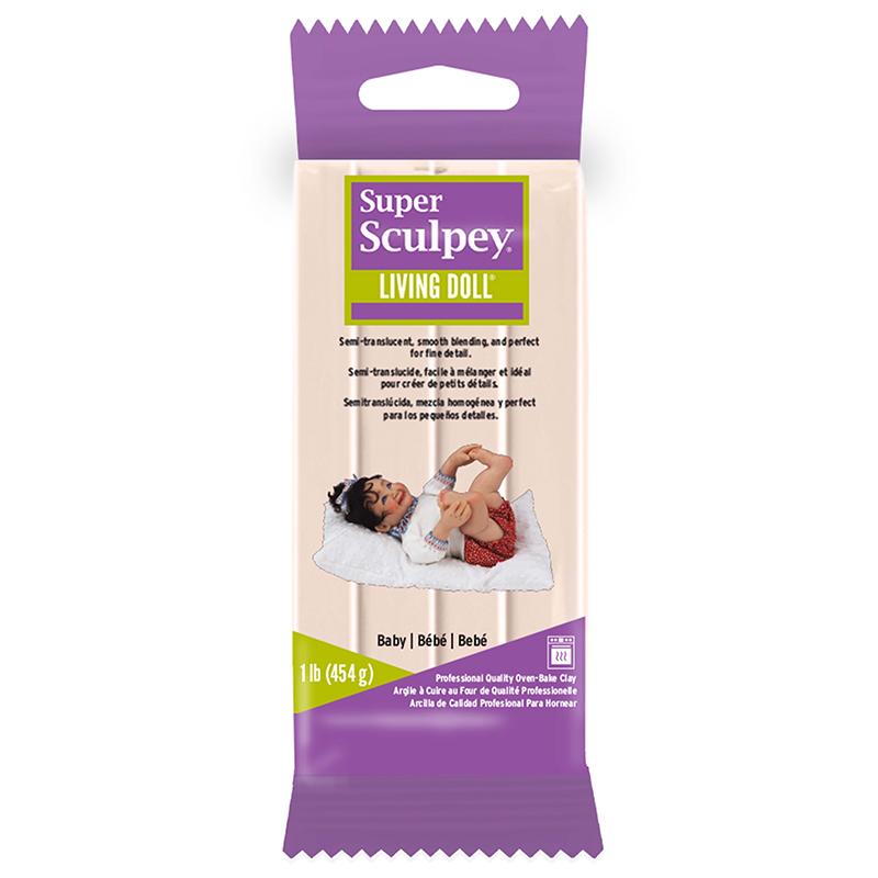 Lera Super Sculpey Living Doll -- Baby, 450g ZSLD4 (3F)