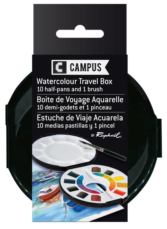 Akvarellset Raphael (Campus) watercolour box