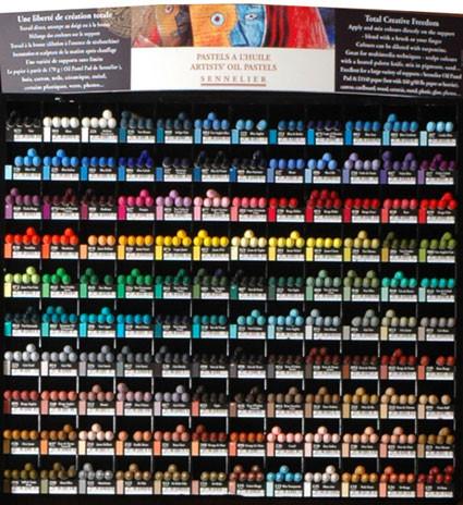 Sennelier Oljepastell 120 färger
