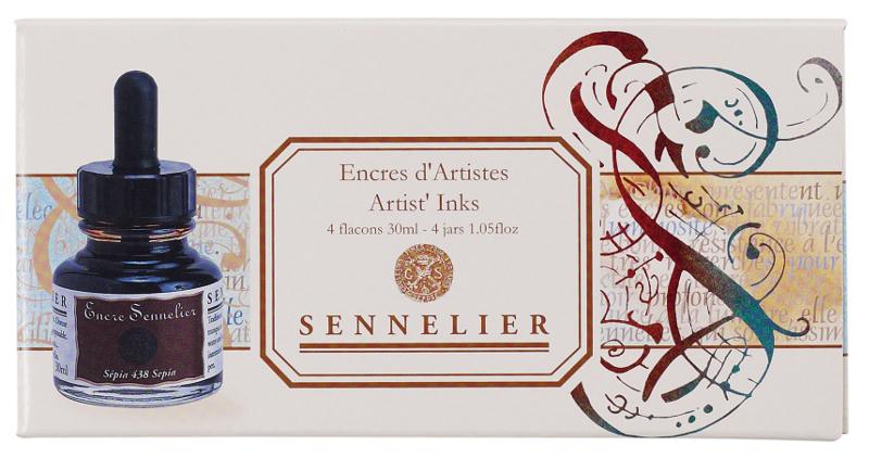Tusch Sennelier Ink set 4