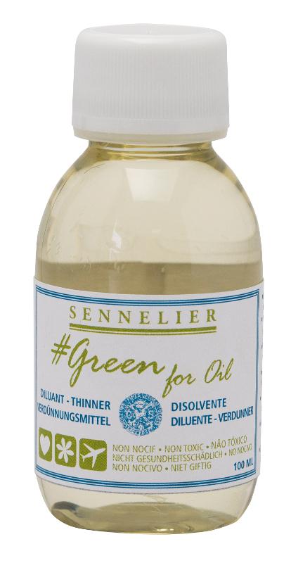 Oljemedium Sennelier GreenForOil Thinner 100ml