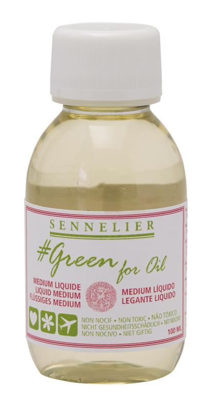 Oljemedium Sennelier GreenForOil Liquid medium 100ml