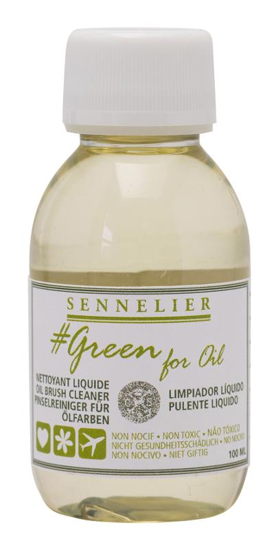 Oljemedium Sennelier GreenForOil Brush Cleaner 100ml