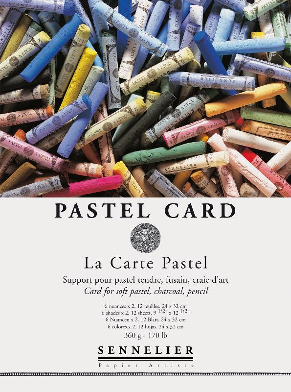Pastellblock Sennelier 360 g 24 x 32 cm - 12ark
