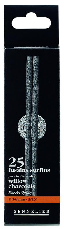 Ritkol Sennelier Medium, 5-6mm. 25 kol/förp.