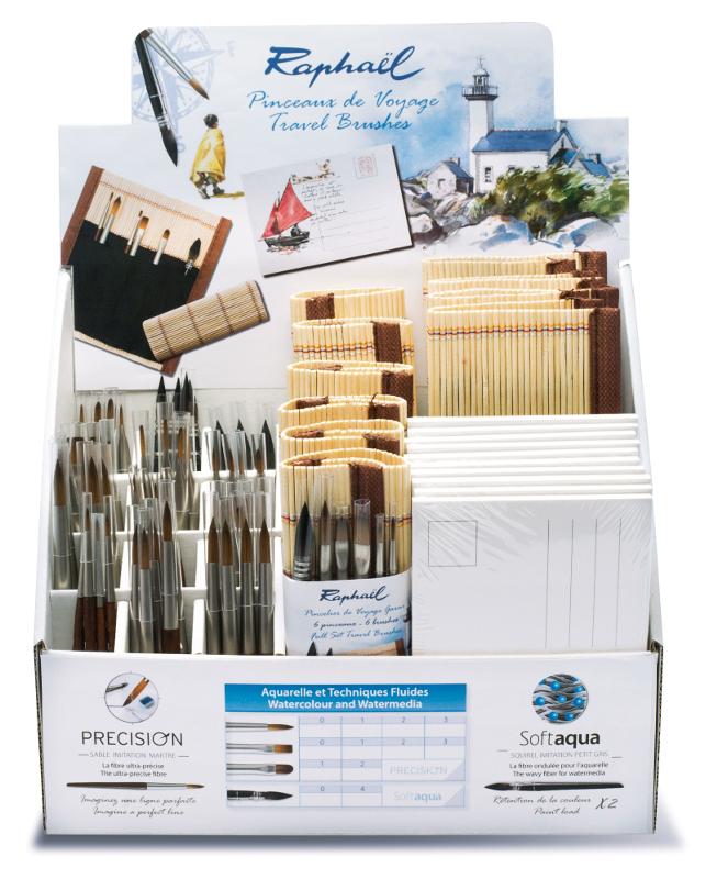 Penselställ Raphael Travel brushes Minipenslar
