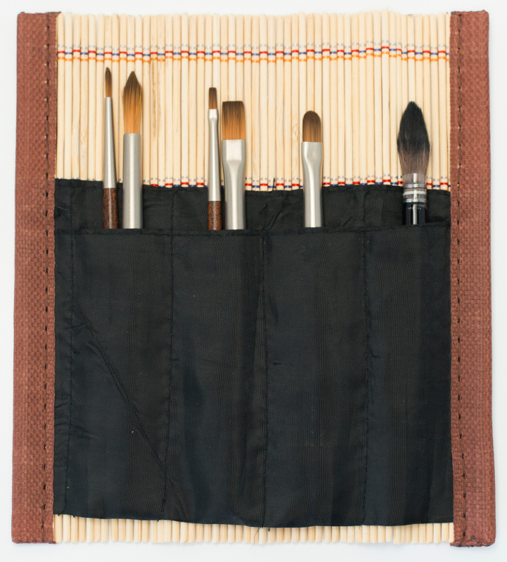 Penselset Raphael Bambu med 6 minipenslar