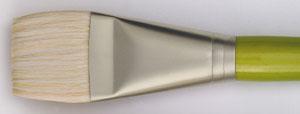 Svinborstpensel Raphael Mixacrylic 8750 Flat kort st 2 (5F)