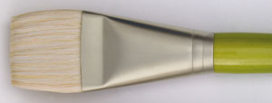 Svinborstpensel Raphael Mixacrylic 8750 Flat kort st 2 (5F) utgår