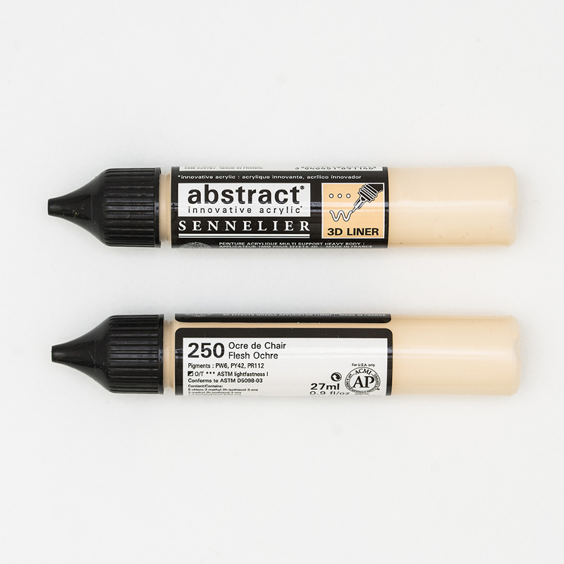 Akrylfärg Sennelier Abstract Liners 27ml Flesh Ochre 250 (3F)