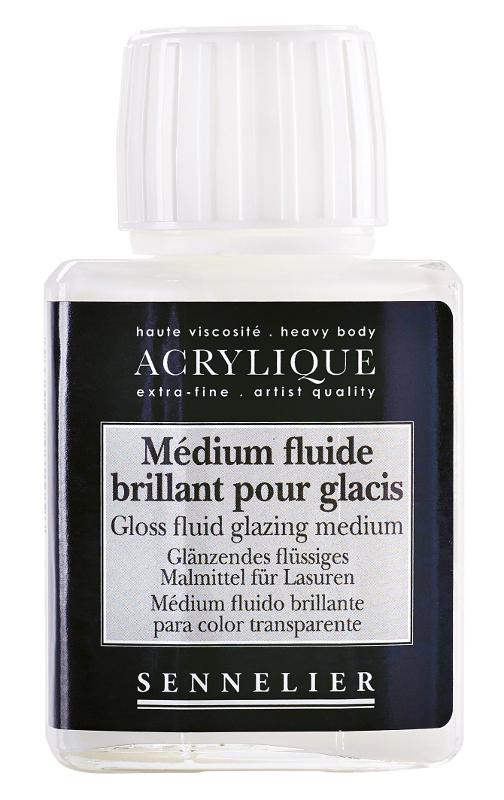 Akrylmedium Sennelier Gloss fluid glazing medium > 75 ml (5F)