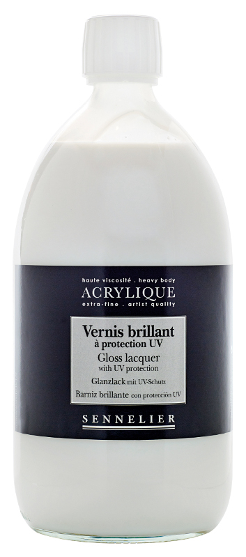 Fernissa Sennelier Akryl Gloss lacquer with UVLS > 1 Liter