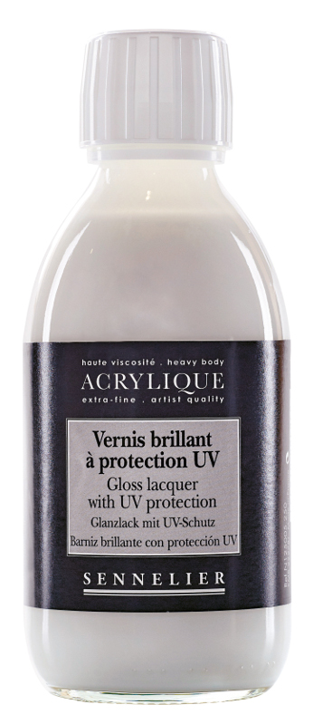 Fernissa Sennelier Akryl Gloss lacquer with UVLS > 250 ml