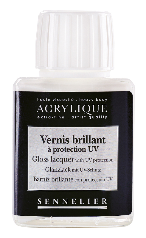 Fernissa Sennelier Akryl Gloss lacquer with UVLS > 75 ml (5F)