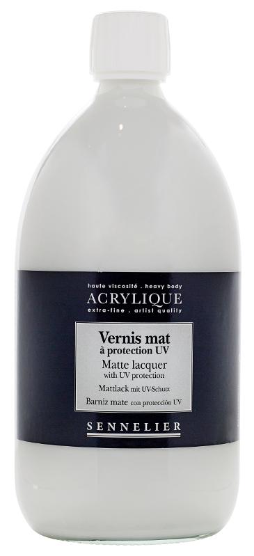 Fernissa Sennelier Akryl Matte lacquer with UVLS > 1 Liter