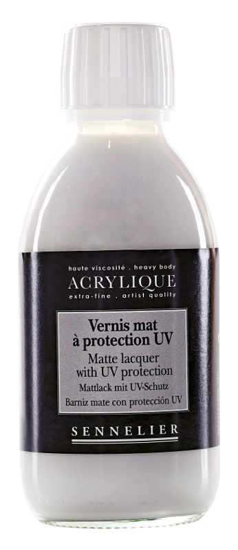 Fernissa Sennelier Akryl Matte lacquer with UVLS > 250 ml