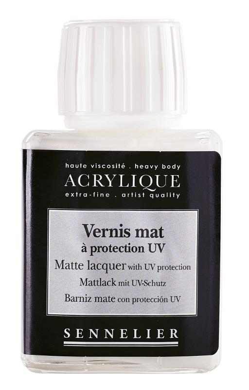 Fernissa Sennelier Akryl Matte lacquer with UVLS > 75 ml (5F)