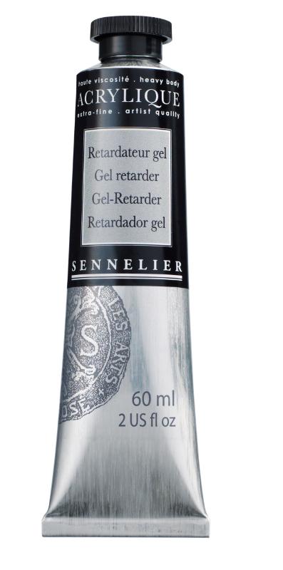Akrylmedium Sennelier Gel retarder > 60 ml (3F)
