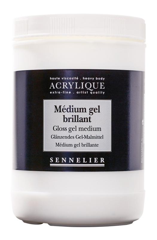 Akrylmedium Sennelier Gloss gel medium > 1 Liter