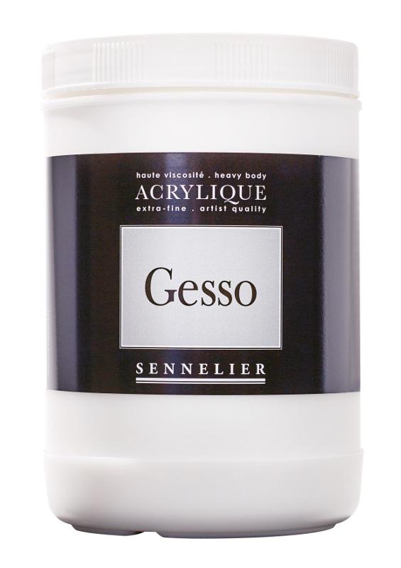 Akrylmedium Sennelier Gesso > 1 Liter