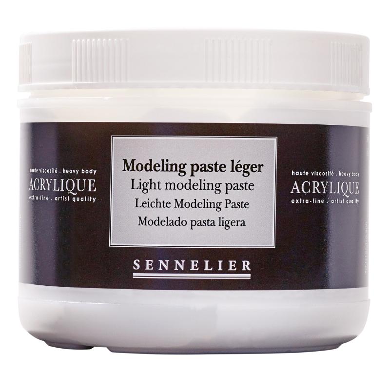 Akrylmedium Sennelier Light modeling paste > 500 ml