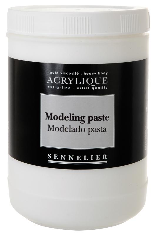 Akrylmedium Sennelier Modeling paste > 1 Liter