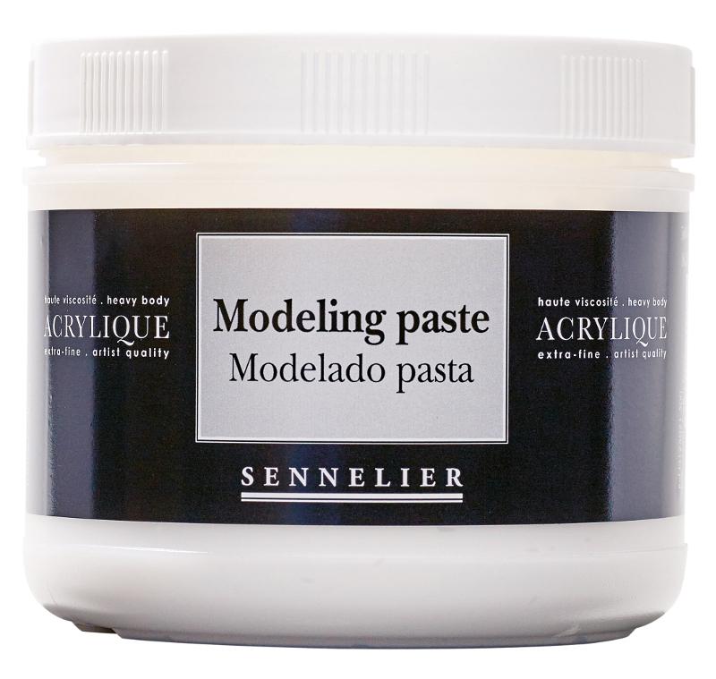 Akrylmedium Sennelier Modeling paste > 500 ml