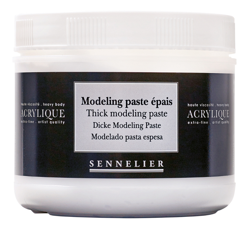 Akrylmedium Sennelier Thick modeling paste > 500 ml