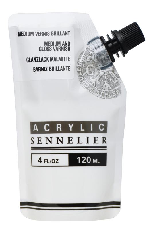 Akrylmedium Sennelier Abstract Gloss Varnish/Medium 120ml
