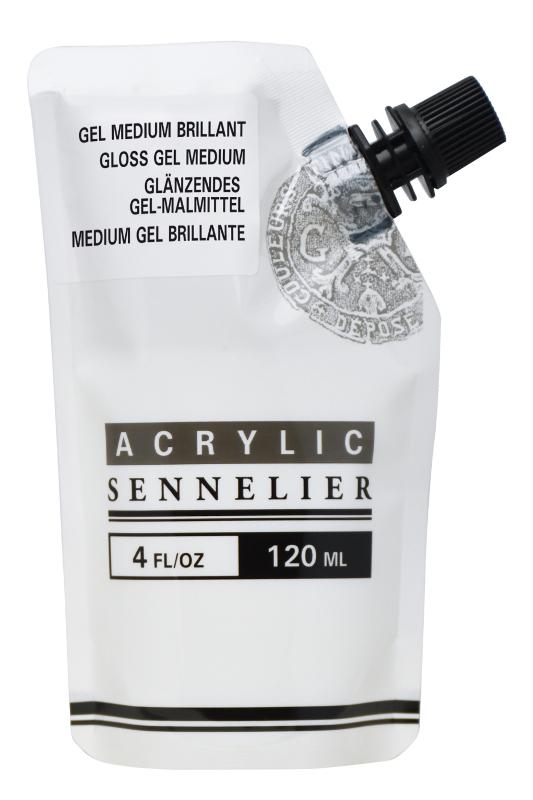Akrylmedium Sennelier Abstract Gloss gel 120ml