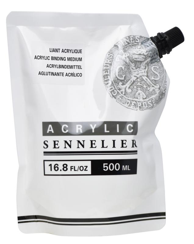 Akrylmedium Sennelier Abstract Binding Medium 500ml
