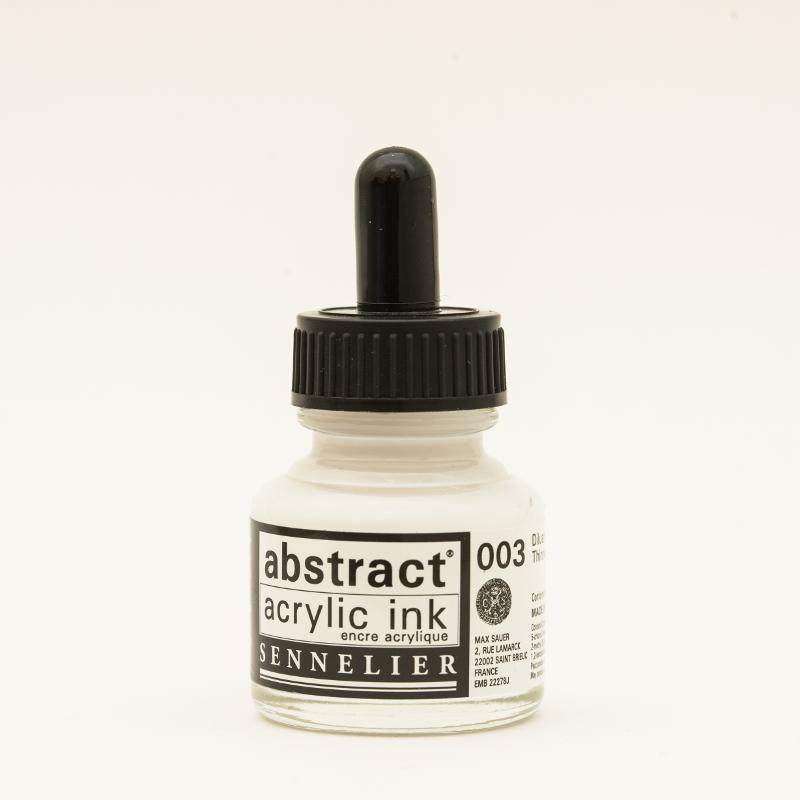Akrylfärg Sennelier Abstract Acrylic Ink 30 ml Thinner 003 (3F)