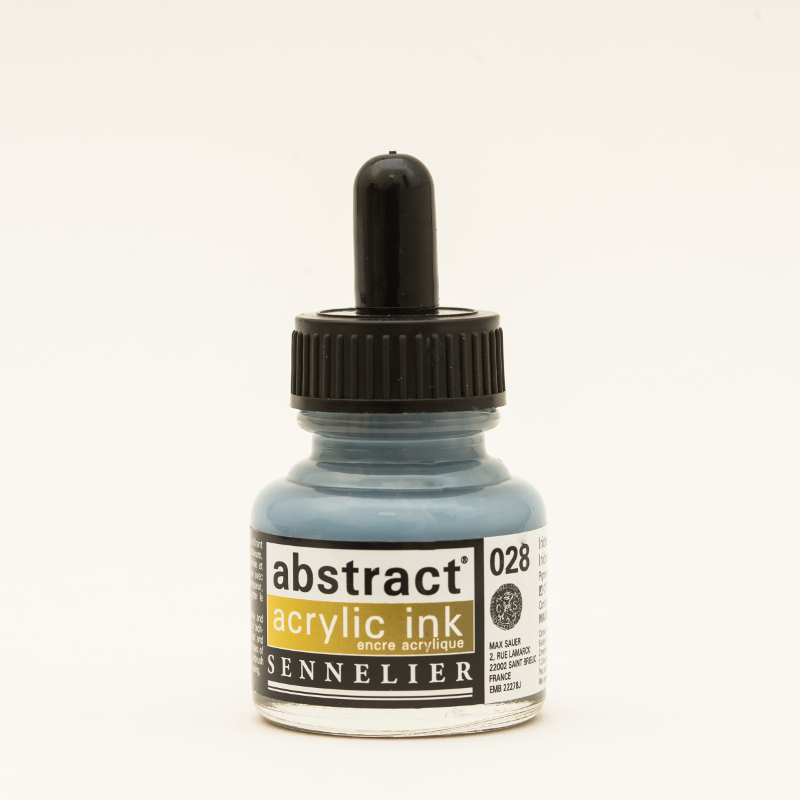 Akrylfärg Sennelier Abstract Acrylic Ink 30 ml Iridescent Gold 028 (3F)