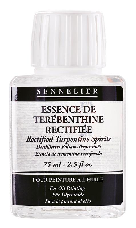 Oljemedium Sennelier Rectified turpentine spirits > of 75 ml (5F)