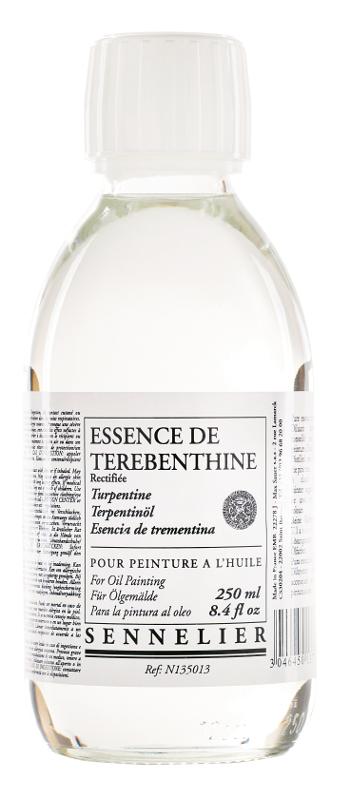 Oljemedium Sennelier Rectified turpentine spirits > 250 ml